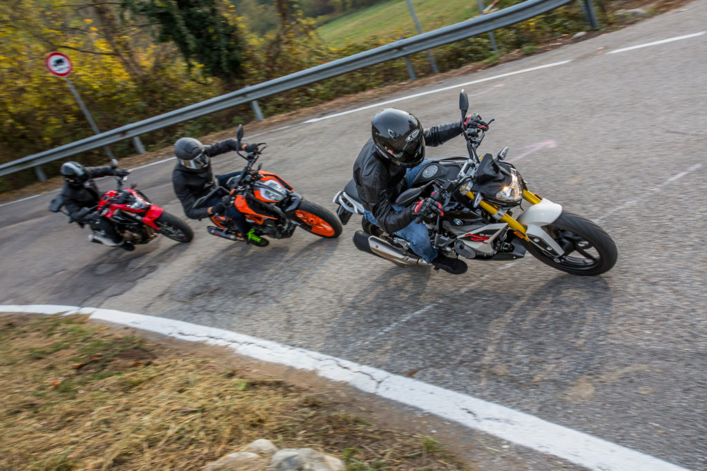 Comparativa KTM 390 Duke, Honda CB500 F, BMW G 310 R